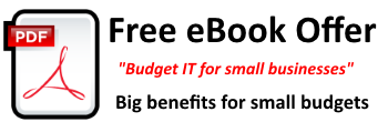 electronic book PDF entitled Budget IT for Small Business